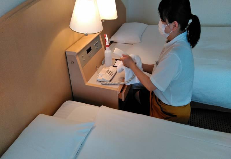 万全なコロナウイルス感染症対策を開始し、より安心してご滞在頂けるホテルへ